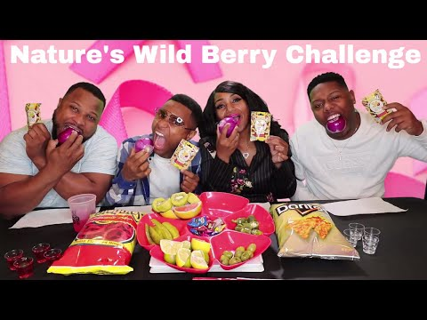 Miracle Berry Taste Challenge (Makes Everything Taste Sweet)