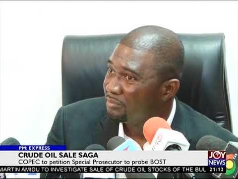 Crude Oil Sale Saga - PM EXpress on JoyNews (19-3-18)