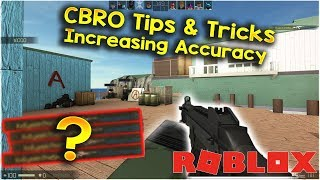 "CBRO Tips And Tricks! ""Increasing Aim"" - Let's Play - Counter Blox: ROBLOX Offensive [ROBLOX CSGO]"