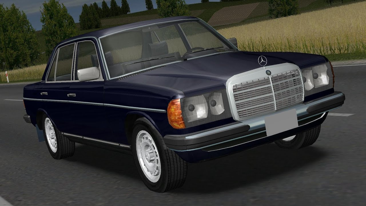 Mercedes W123 240d Drive Links Racer Free Game Youtube