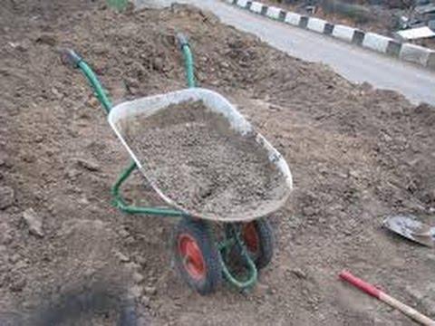 Тачка бетон керамзитобетон назначение