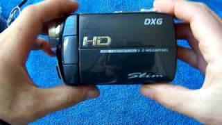 dxg dvh 566 hd camcorder unboxing
