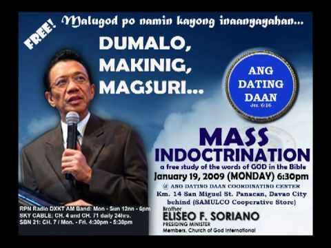 Ang Dating Daan Mass Indoctrination Ang