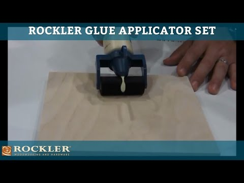 Rockler Glue Applicator Set at AWFS 2013 Presented by Woodworker's Journal