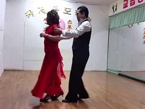국제무도학원 지루박 특수 스탭 대공개!