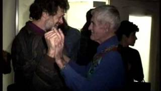 Terence McKenna greets Tim Leary @ Digital Be-in SF 1993