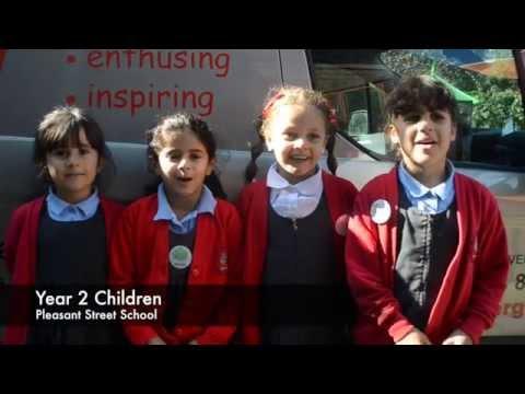 Pleasant Street School Year 2 Children Birthday Message