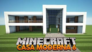 minecraft casa moderna para uma mapa construindo