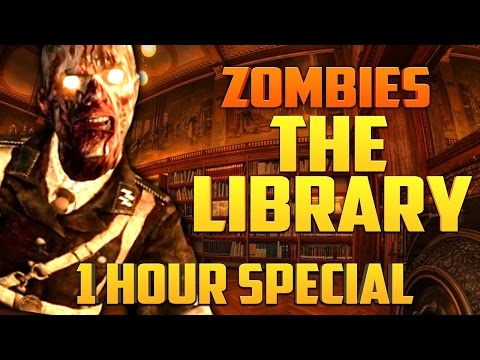 ZOMBIE LIBRARY - 1 HOUR SPECIAL ★ Call of Duty Zombies Mod (Zombie Games)