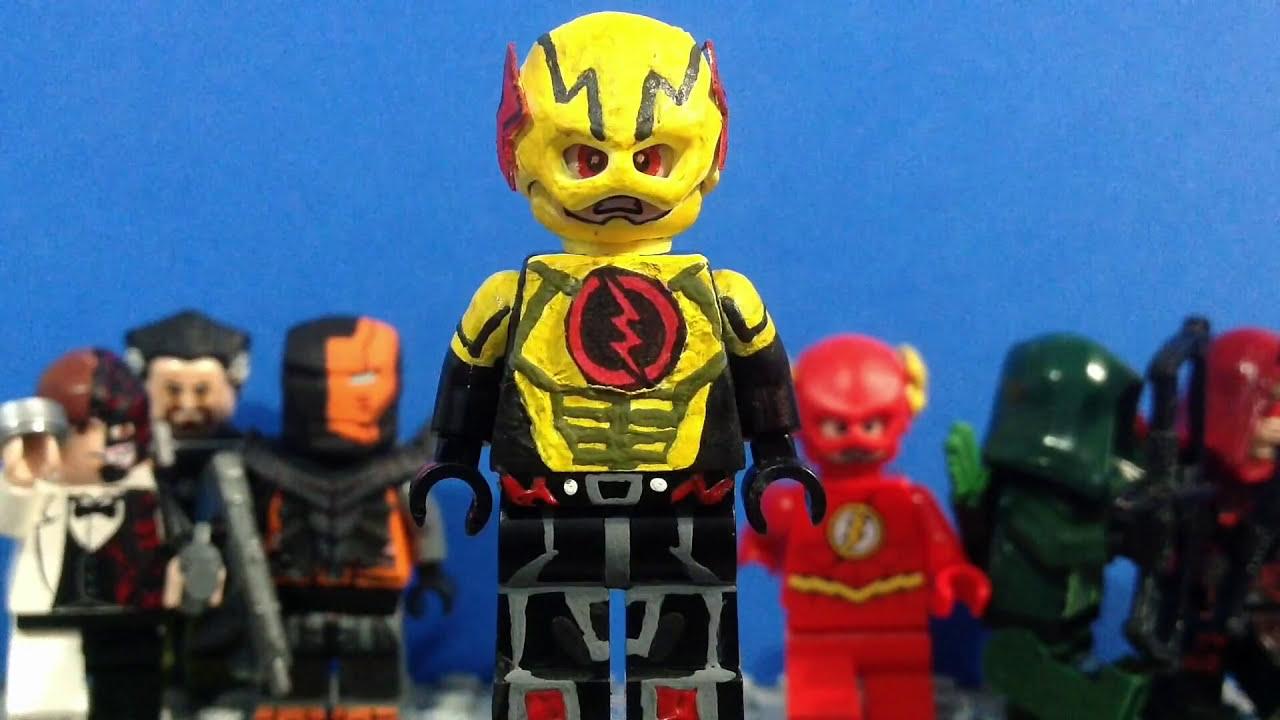 Lego DC: Reverse Flash- Custom Minifigure - YouTube