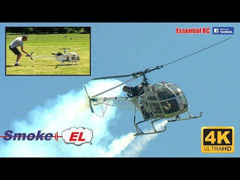VARIO Lama SA 315B Turbine Scale RC Helicopters [*UltraHD and 4K*]