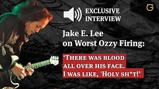 Guitarist Jake E. Lee shares his memories on worst Ozzy firing