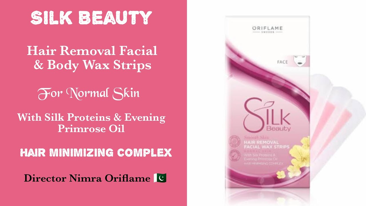 Oriflame S Silk Beauty Facial Body Wax Strips How To Use It