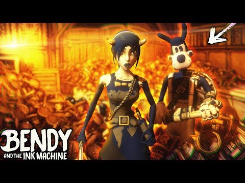 BACON SOUP COVERING NEW ALICE AND BORIS!! BACON MINIGUN | Bendy and the Ink Machine [Chapter 4] Hack