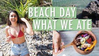 Beach Day + What We Ate | NOOSA VLOG thumbnail
