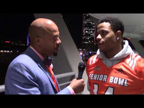 Football Gameplan's 2017 Senior Bowl Interview - Justin Evans