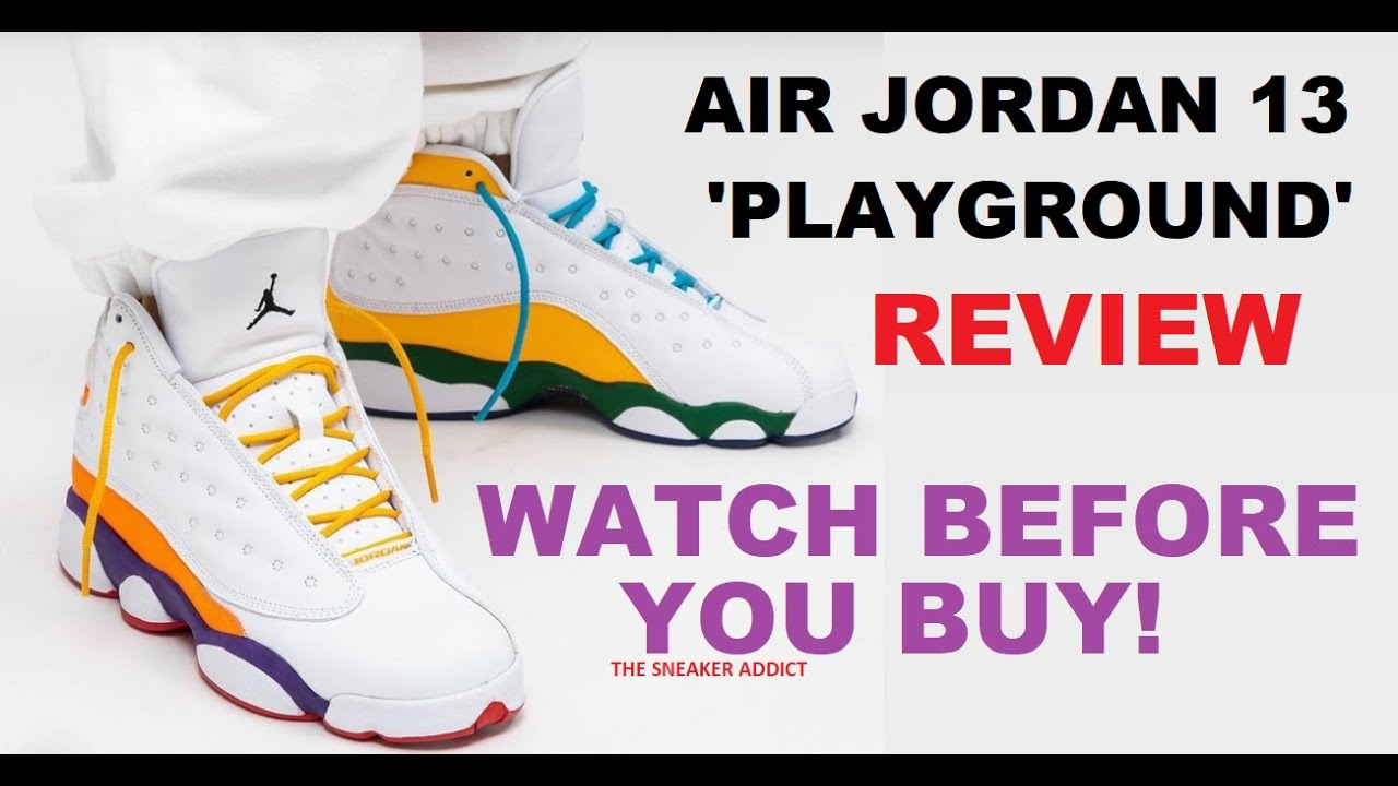 Air Jordan 13 Playground Retro Sneaker Review Youtube