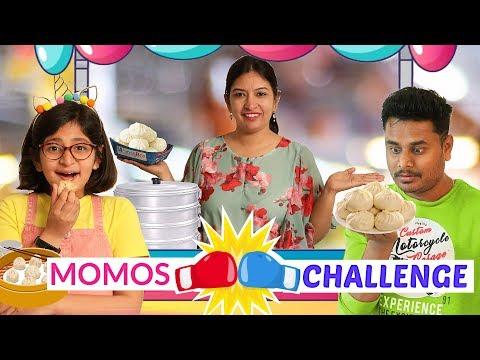 60 Seconds MOMOS Challenge .. | CookWithNisha