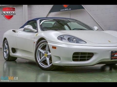 2003 Ferrari 360 Spider F1 #  @MVLleasing.com - Toronto Exotic