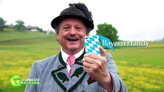 Das Bayern-Handy, mehr braucht ma ned!