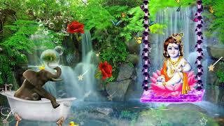 radhe krishna good morning video#radha krishna swinging whatsup status
