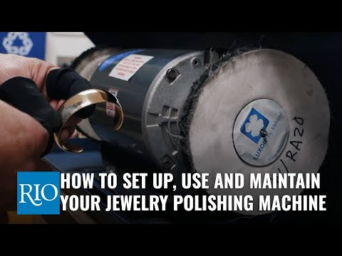 How To Properly Use A Jewelry Polishing Machine