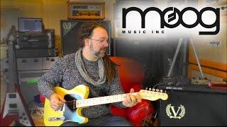 Moog Minifooger - MF Chorus & MF Flange Pedal Demo