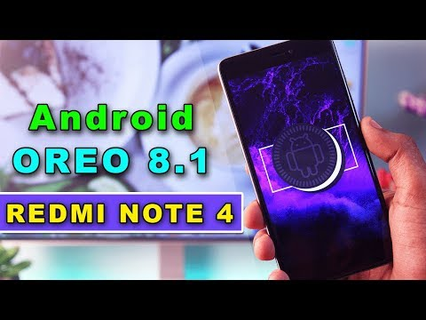 Redmi Note 4 : Android Oreo 8.1 Beta Official AOSP Extended Rom Review