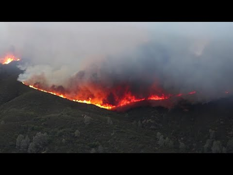 Mendocino Complex wildfire becomes largest in state history