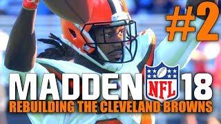 Madden 18 Browns Rebuild - Part 2 - Showdown in Baltimore! (Week 2 @ Ravens)