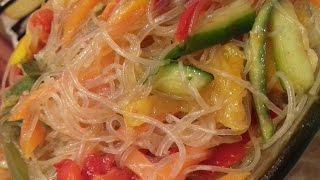 Рецепт очень вкусной Фунчозы с овощами