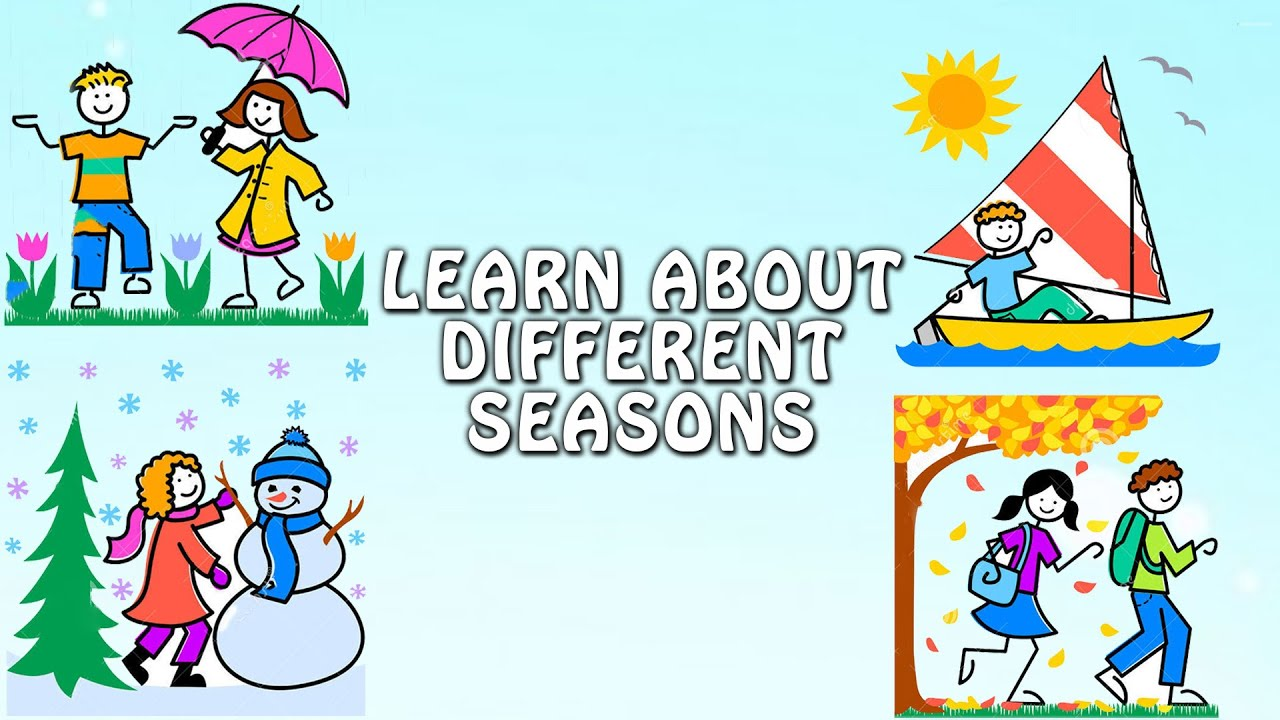 Learn About Different Seasons | Pre School Learning and ...