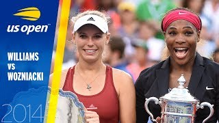 Serena Williams vs. Caroline Wozniacki | 2014 US Open Final | Full Match