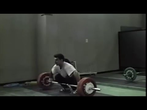 Kakhiashvili Snatch and Clean and Jerk Training (Synced audio)