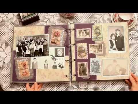 Фотоальбом с фотографиями своими руками на юбилей