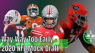 Way Way Too Early 2020 NFL Mock Draft   Complete 1st Round   CPGM