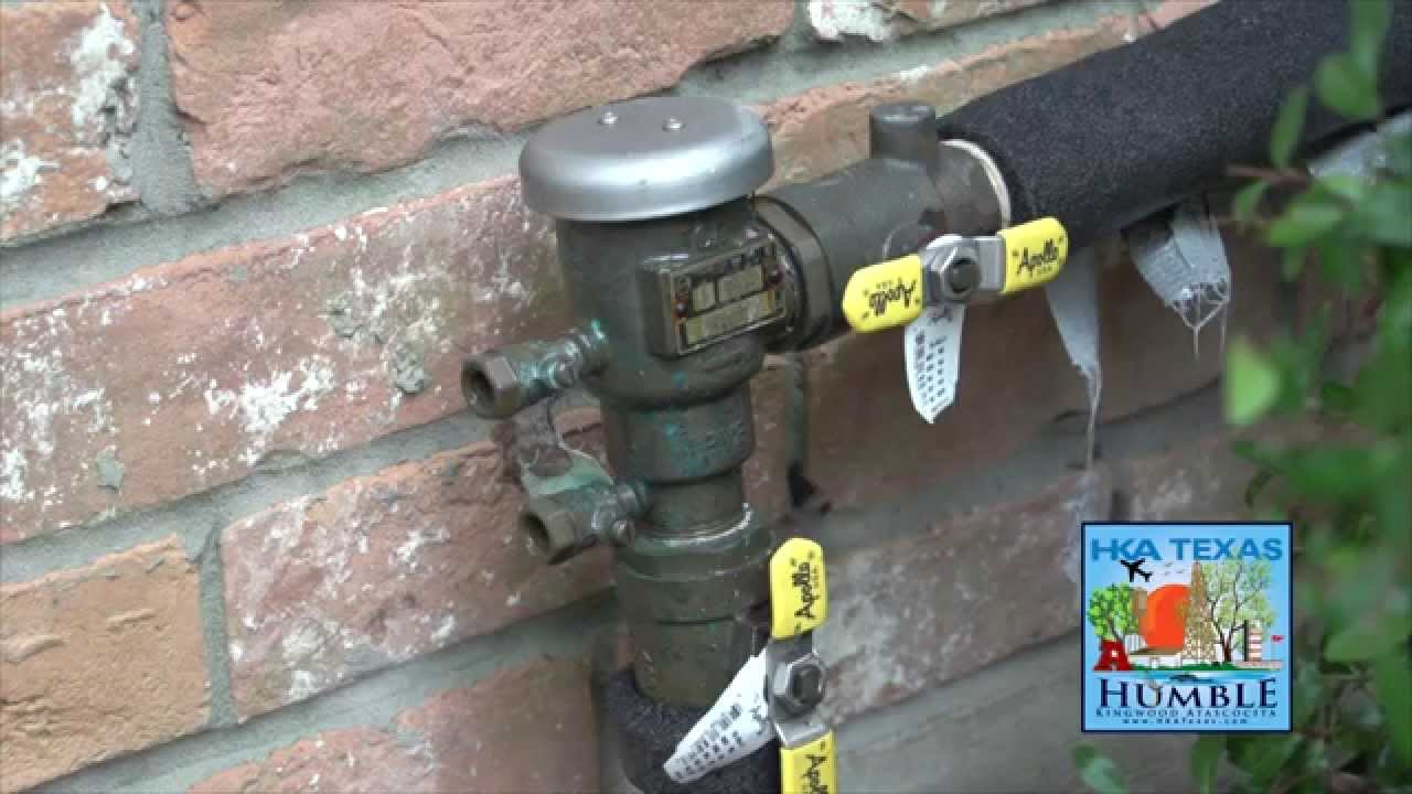 sprinkler system backflow preventer diagram gibson sg special wiring winterizing your on irrigation youtube