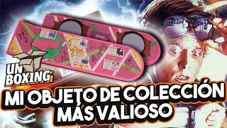 Hoverboard Back to the future 2 autografiado #Unboxing