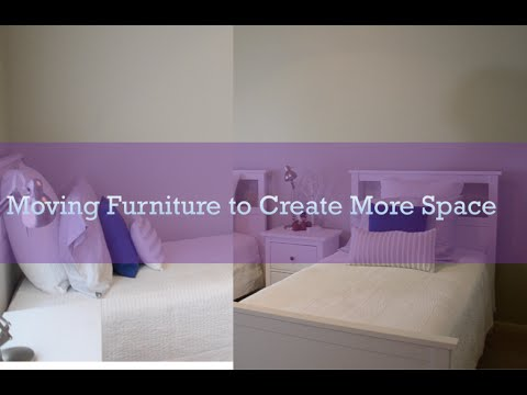 Moving Furniture To Create Space