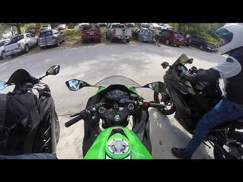 Kawasaki Ninja 300 Group Ride in Central Florida, Part 2