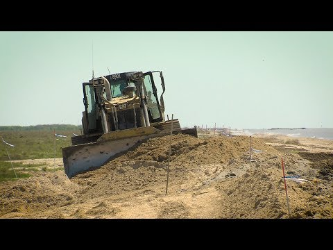 Restoring Beach Dunes, McFaddin Beach - Texas Parks & Wildlife [Official]