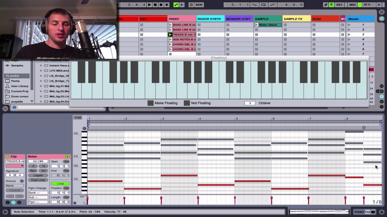 how to use chord in ableton