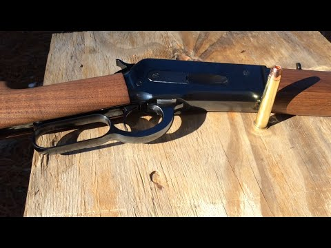 45-90 4047 Foot Pounds Of Energy In A Brand New 1886 Winchester Lever Action Rifle