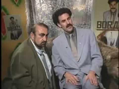Borat Discovers The Jew
