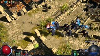 POE (Path of Exile): Reckoning Level 1 Gem on Precinct Map