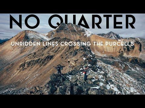 No Quarter: Unridden Lines Crossing the Purcells