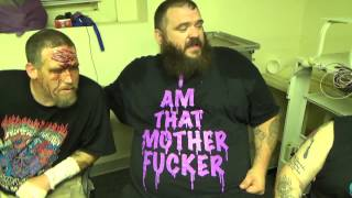 "IAN ROTTEN, ""MEAN"" MITCH PAGE & CORPORAL ROBINSON have a message for the NEW SCHOOL"