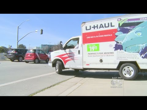 BAY AREA EXODUS:  U-Haul running out of trucks as Bay Area residents relocate outside the area