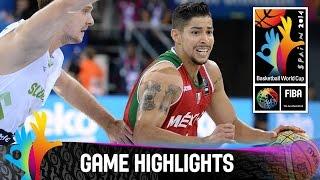 Slovenia v Mexico - Game Highlights - Group D - 2014 FIBA Basketball World Cup