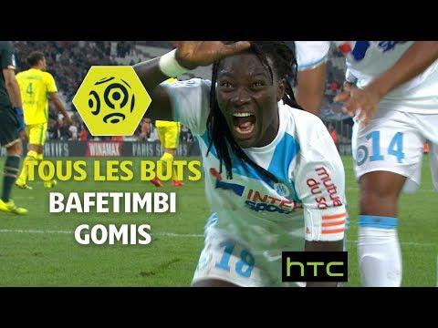 Tous les buts de Bafetimbi Gomis - OM 2016-17 - Ligue 1